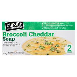 Cuisine Adventures Broccoli Cheddar Soup - 570g