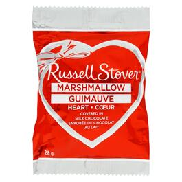 Russell Stover Milk Chocolate Marshmallow Heart - 28g