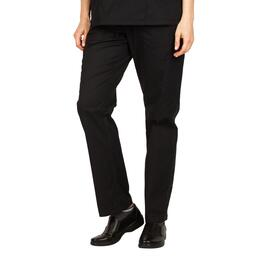 Options Women's Black Basic Scrub Pants - S-XL