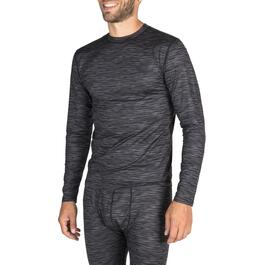 Mountain Ridge Men's Charcoal Micro-Denier Thermal Top - S-XL