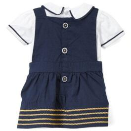 Rock a Bye Baby Nautical Collection Dress Set 2pc. - 0-12M