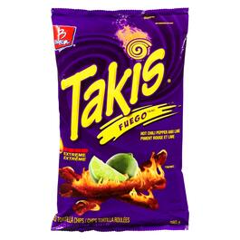 Takis Fuego Hot Chili Pepper and Lime Extreme Tortilla Chips - 280g