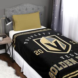 NHL Vegas Golden Knights Luxury Blanket - 70in.