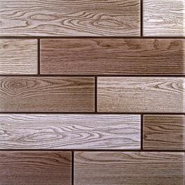 Truu Design 3D Mixed Woodgrain Wall Tiles - 6pk.