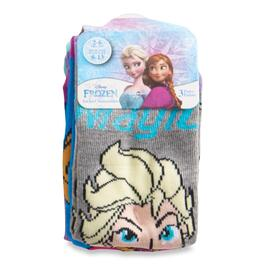 Girls Licensed Frozen Socks 3pk. - 2-6X
