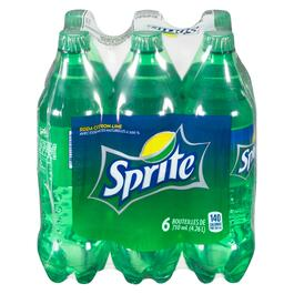 Sprite Lemon-Lime Soda 6pk. - 710ml