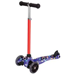 Rugged Racers Spaceship Kids Scooter with LED Wheels