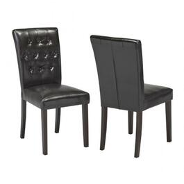 Brassex Espresso Soho Dining Chair - 2pc.