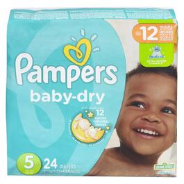 Pampers Baby Dry Jumbo Pack- 24pk.