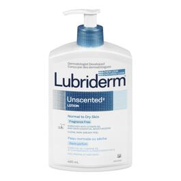 Lubriderm Unscented Lotion - 480ml