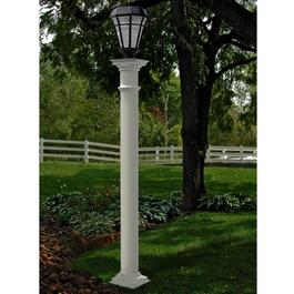 New England Arbors Providence Round Lamp Post