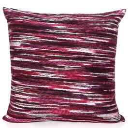 Gouchee Design Red Rainbow Cushion - 18in.