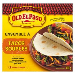 Old El Paso Dinner Kit Soft Taco - 400g