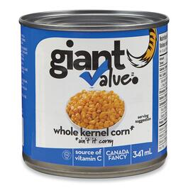 Giant Value Whole Kernel Corn - 341ml