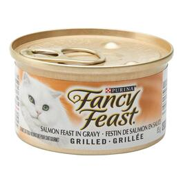 Purina Fancy Feast Grilled Salmon Feast Cat Food - 85g