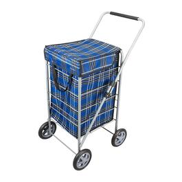 Metaltex Explorer Shopping Cart - Blue
