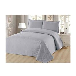 Beauty Sleep Reversible Queen Quilt Set - 3pc.