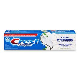 Crest Complete Extra White Clean Mint Toothpaste - 50ml