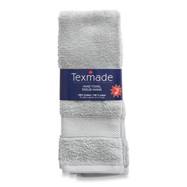 Texmade Light Grey Hand Towels 2pk. - 28in.