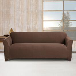 Surefit Stretch Morgan Chocolate Slipcover for Sofa - 1pc.