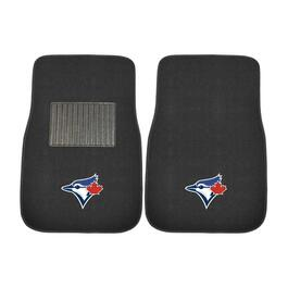MLB Toronto Blue Jays Embroidered Car Mat Set - 2pc.