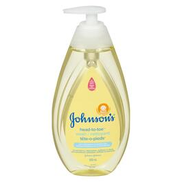 Johnson's Head-to-Toe Baby Wash - 500ml