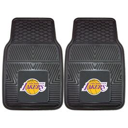 NBA Los Angeles Lakers Vinyl Car Mat Set - 2pk.