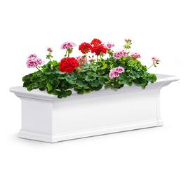 Mayne Yorkshire White  Window Box - 3ft.