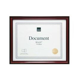 Kiera Grace Harper Document Frame, Set of 24 - Dark Brown