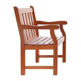 Vifah Malibu Outdoor Patio Garden Armchair