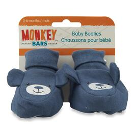 MONKEY BARS Infant Bear Booties - One Size