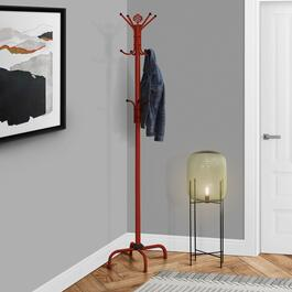 Monarch Specialties Metal Coat Rack - 70in.