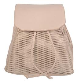 NICCI Blush Perforated Fashion Backpack