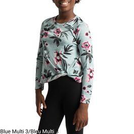 BELLA & BIRDIE Girl's Printed Hachi Knot Top - 7-16 (S-XL)