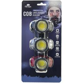 Olympia COB Headlamp - 3pk.