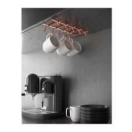 Metaltex My Mug Copper Undershelf Cup Holder