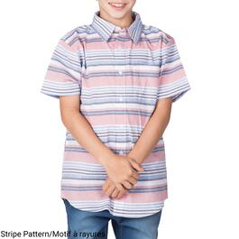 SURVIVAL GEAR Boys Printed Button-Down Shirt - S-XL (7-16)
