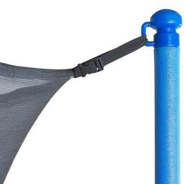 Upper Bounce Trampoline Enclosure Net Fit for 6 Poles or 3 Arches - 8ft.