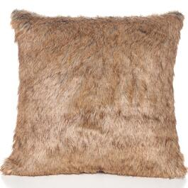 Gouchee Design Natural Fur Cushion - 18in.