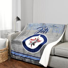 NHL Winnipeg Jets Throw - 60in.
