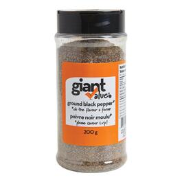 Giant Value Ground Black Pepper - 200g