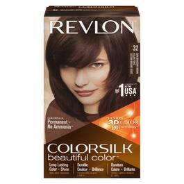 Revlon ColorSilk Dark Mahogany Brown Hair Colour - No. 32