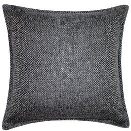 Milano Herringbone Dark Grey Cushion - 18in.