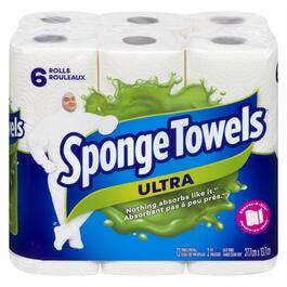 Sponge Towels Ultra - 6pk.