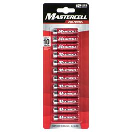 Mastercell AAA Pro Power+ Batteries - 12pk.