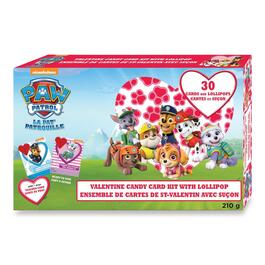 Paw Patrol Valentine Candy Card Kit - 30pk.
