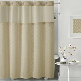 Hookless Shower Curtain - 74in.