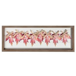 IH Casadecor Framed Thankful Wall Art