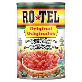 Rotel Finely Chopped Tomatoes and Green Chilies - 284ml