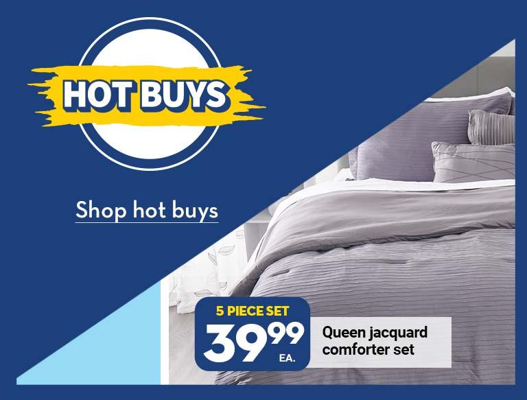 Hot buys. Shop hot buys.